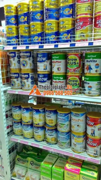 Kệ trưng bày hàng tại Thuận Châu, Sơn La