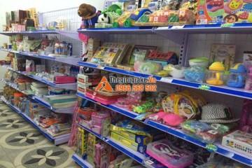 Giá kệ bày hàng tại Hoa Lư, Ninh Bình
