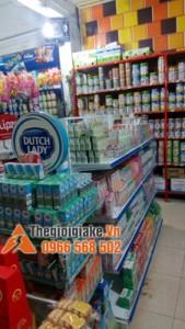 Giá kệ siêu thị mini