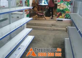 Kệ bày hàng tạp hóa tại Mộc Châu, Sơn La
