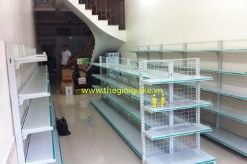 Kệ siêu thị bày hàng tại Nghĩa Hưng, Nam Định
