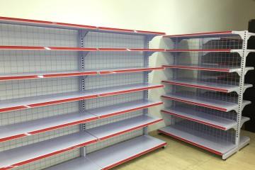 Giá kệ bày hàng tại Na Hang, Tuyên Quang
