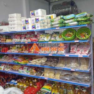 kệ hàng siêu thị tại Hòa Bình