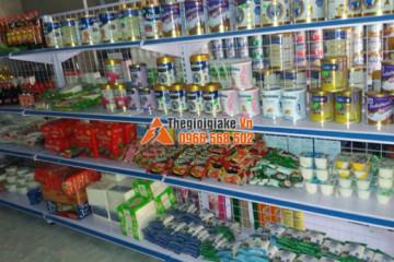 Giá kệ bày hàng tại Đồng Hỷ, Thái Nguyên