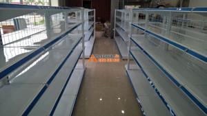Giá kệ siêu thị tại Bảo Lạc, Cao Bằng