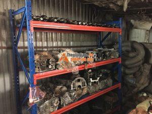 Lắp đặt kệ kho để phụ tùng ô tô tại Hà Nội