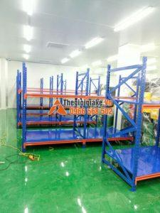 Kệ kho hàng công nghiệp tại Hưng Yên