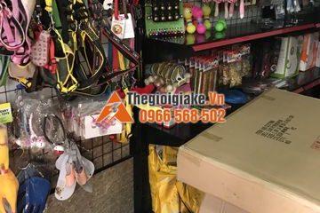Kệ treo phụ kiện chó mèo tại Hà Nội
