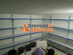 Lắp đặt kệ siêu thị áp tường tại Hạ Đình, Hà Nội