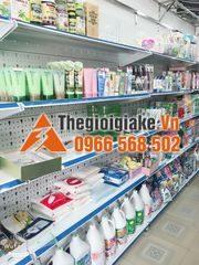 Kệ siêu thị tôn lỗ 3A bày hàng mỹ phẩm