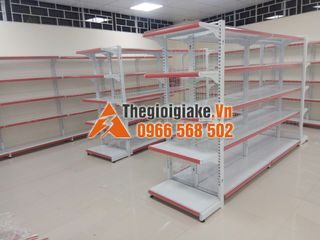 Giá kệ 3A lắp đặt giá kệ siêu thị tại Ba Đồn, Quảng Bình