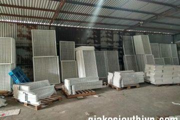 Khung lưới kệ siêu thanh lý thị tại Tiên Du Bắc Ninh
