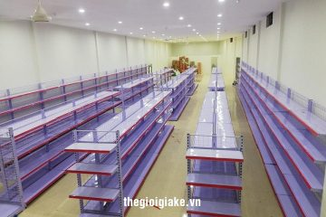 Giá kệ siêu thị thanh lý Bắc Giang