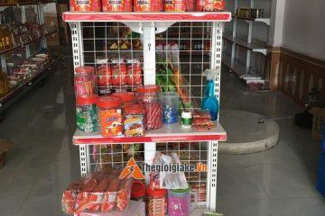 Giá kệ siêu thị Thường Tín – Lắp đặt kệ tạp hóa giá rẻ tại kho