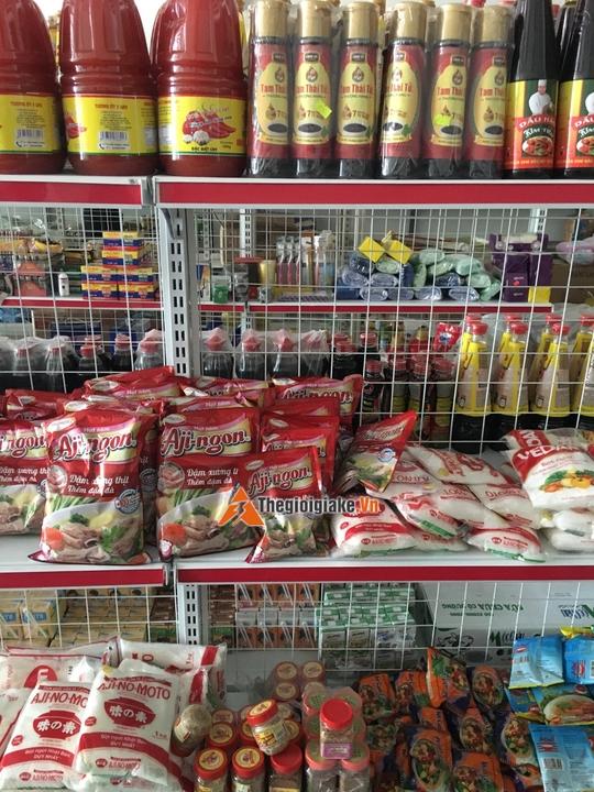 kệ siêu thị sài đồng long biên