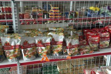 Lắp đặt kệ siêu thị tại Sài Đồng Long Biên