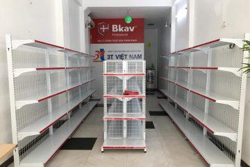 Giá Kệ siêu thị Phúc Thọ – lắp tại Phúc Thọ – bày bán tạp hóa