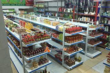 Giá kệ siêu thị Ứng Hòa – Kệ tạp hóa Ứng Hòa – Giá rẻ 3A